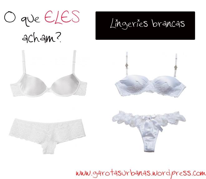 lingeries brancas