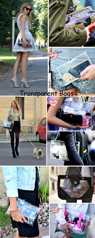 transparent bags
